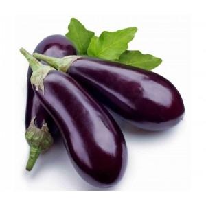1 kg d'aubergines violettes